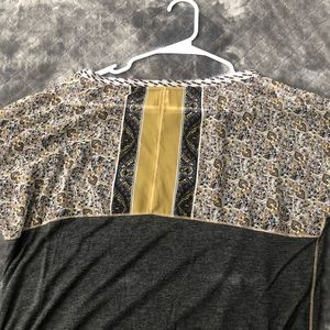 """Anthropologie Tops - Anthropologie """"tiny"""" top jersey material"""